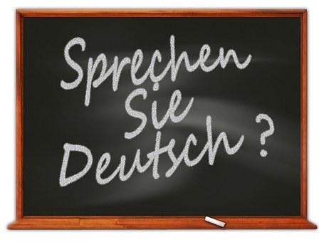 Deutsch, Deutschland, Tafel, Schule