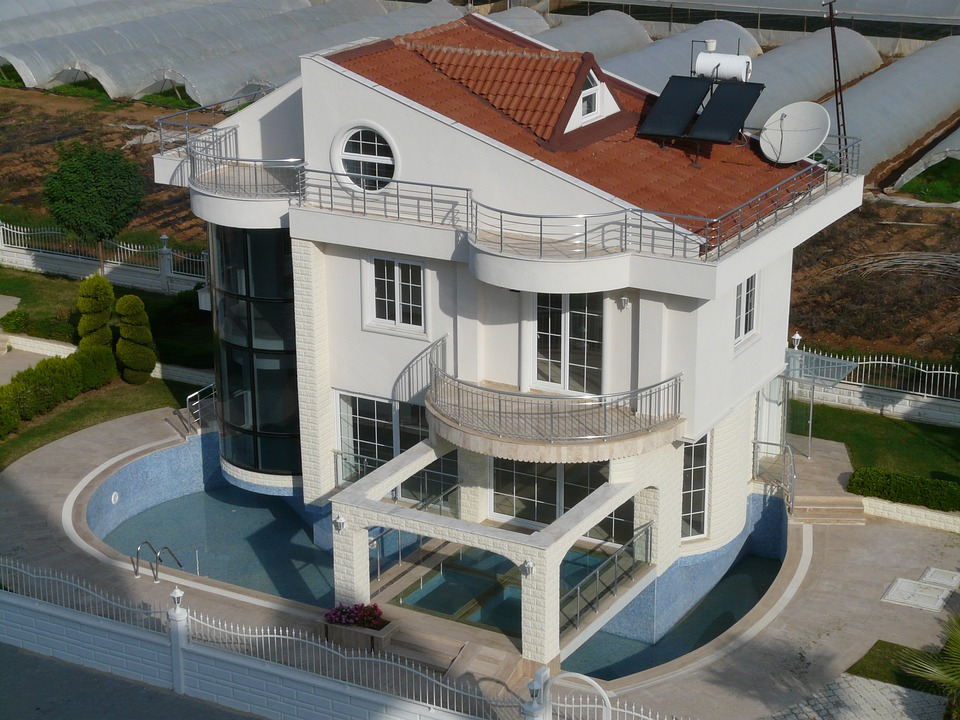 Free photo holiday house home apartment free image on for Mansions in nigeria for sale