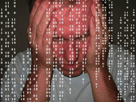 Man, Despair, Problem, Null, One, Binary