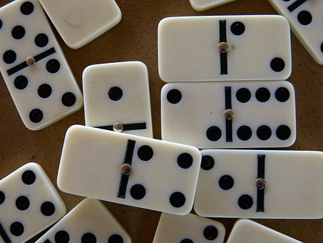 Domino, Stones, Dominoes, Play Stone