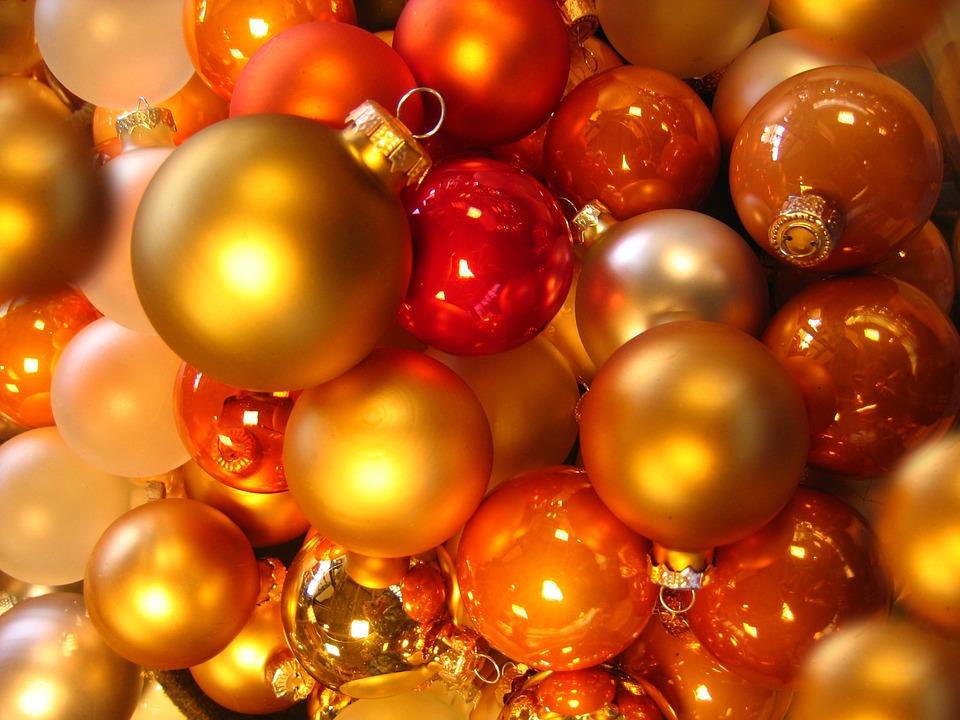 Christbaumkugeln Gelb.Kugeln Christbaumkugeln Glaskugeln Kostenloses Foto Auf Pixabay