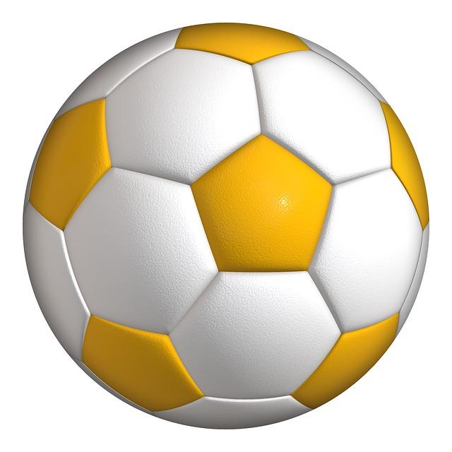 Ilustrasi Gratis: Bola, Sepak Bola, Olahraga, Warna