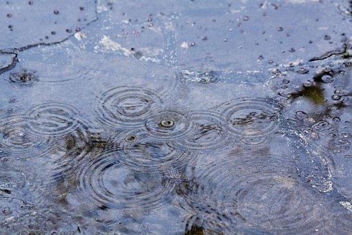 Rain, Raindrop, Interference