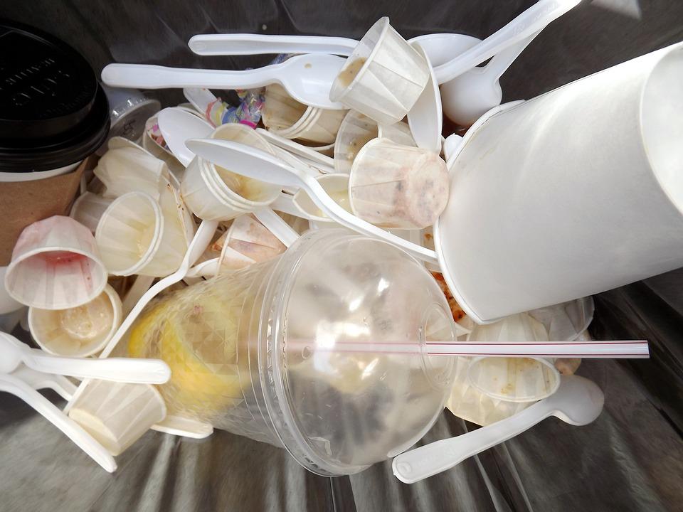 垃圾桶, 垃圾, 回收, 集装箱, 垃圾填埋场