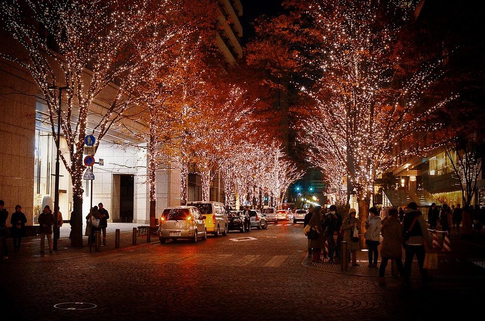 銀座, クリスマス, イルミネーション