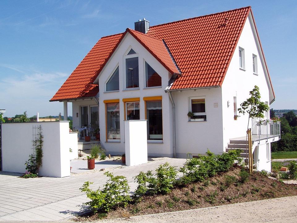 Haus Neubau Eigenheim Kostenloses Foto Auf Pixabay