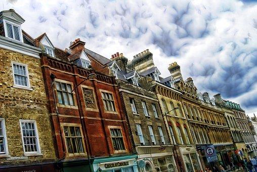 ケンブリッジ, 建物, 構造, アーキテクチャ, 通り, 住宅