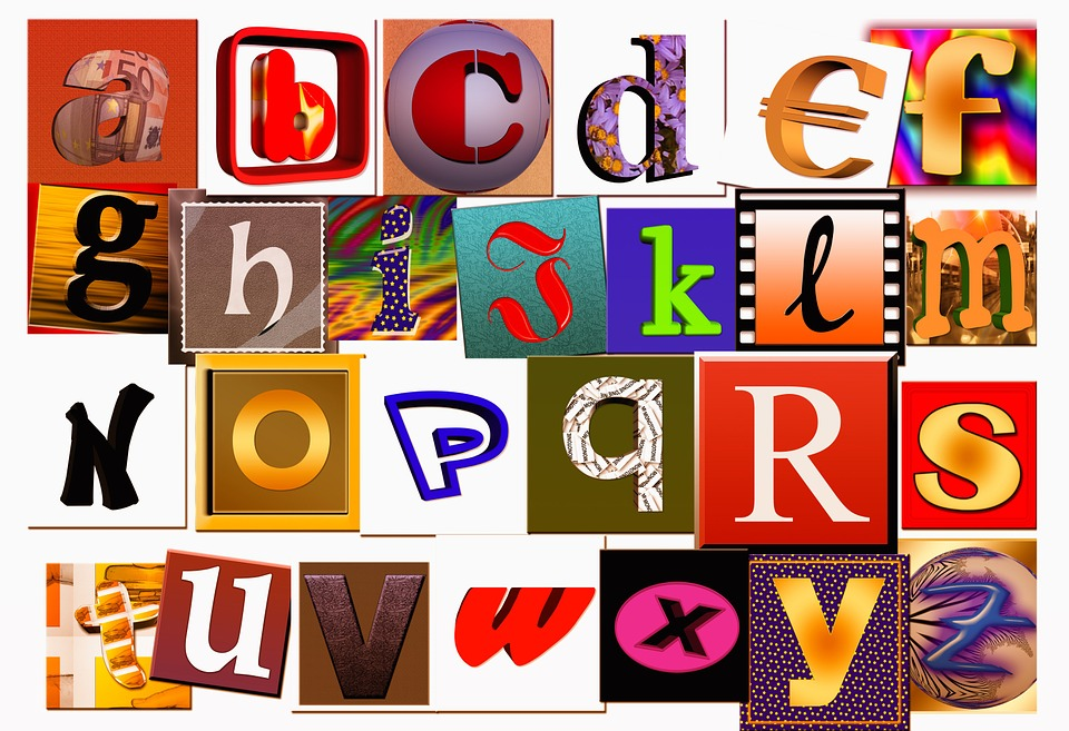 Letters, A, Abc, Alphabet, Literacy, Illiterate