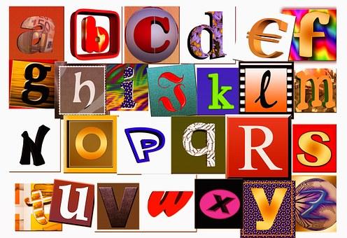 Letters, A, Abc, Alphabet, Literacy