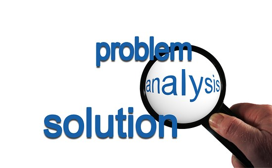 Problem, Analysis, Solution, Hand