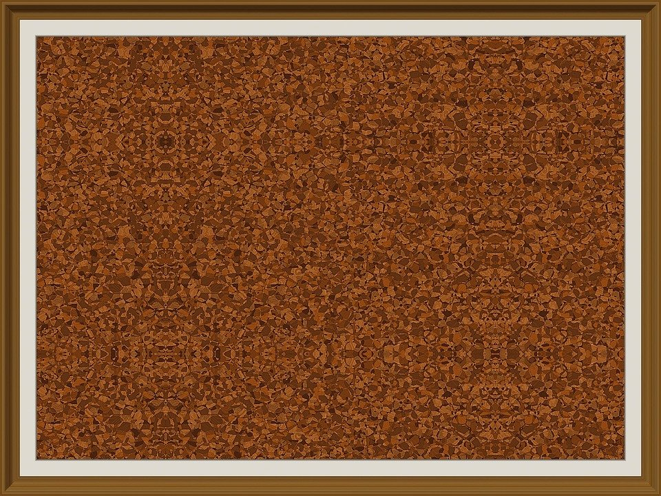 Pin Board Cork Wall Frame Free Image On Pixabay