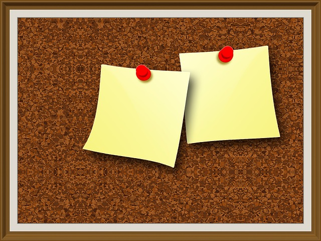 Free illustration: Pin Board, Cork Wall, Frame, Memo ...