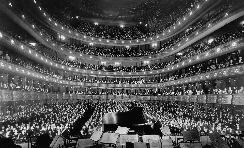 Opéra, Opera House, Concert, Salle De Concert, 1937