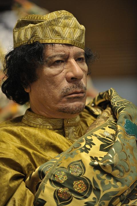 リビア革命の指導者カダフィ大佐2009