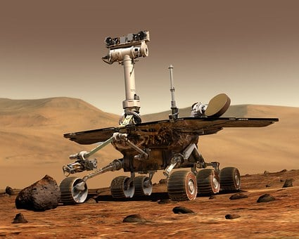 Mars, Mars Rover, Space Travel, Robot
