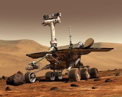 Mars Mars Rover Space Travel Robot Martian