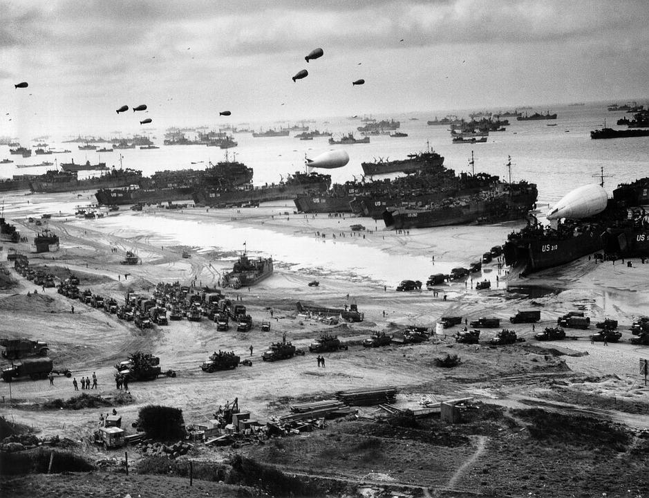 Normandy, Supply, World War Ii, Ww2, Wwii, Landing, War
