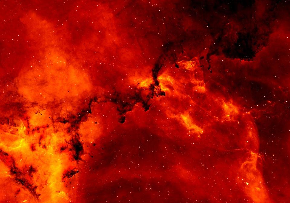 Bintang, Galaksi, Ruang Angkasa, Roset Nebula
