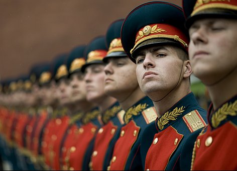 Honor Guard 15S Guard Russian Russians Rus