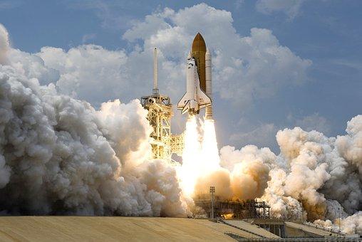 Rocket Launch, Rocket, Take Off, Nasa