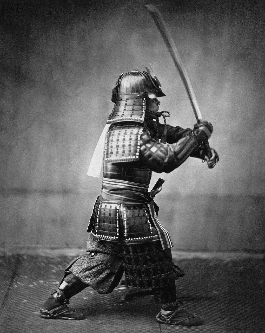 Воин самурай фотографии