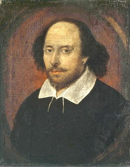 Shakespeare Poet Writer Author Oil Paintin