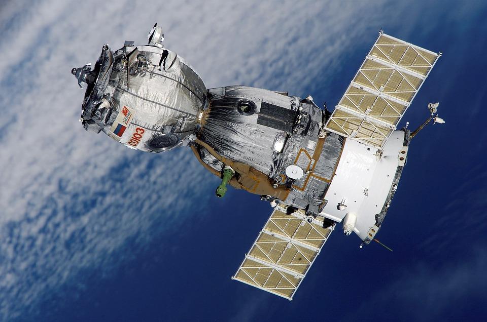 Satellite, Spacecraft, Space, Outer Space, Soyuz