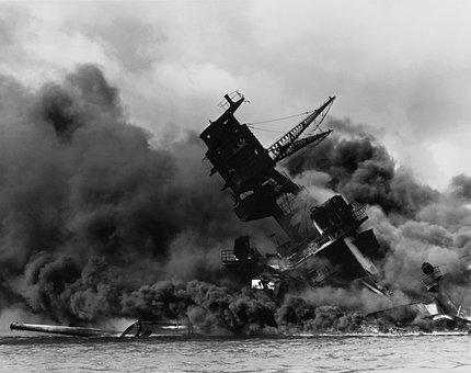 Pearl Harbor, Ship, Warship, Destroyed
