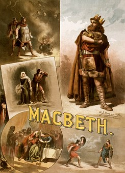 William Shakespeare, Macbeth, Poster