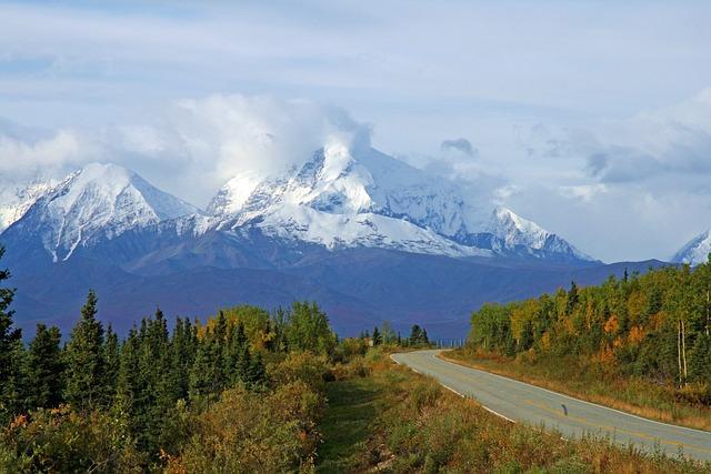 Free Photo Alaska Wilderness Mountains Snow Free