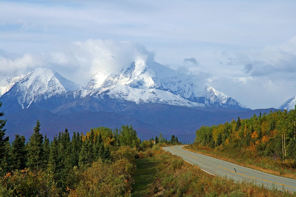 free photo alaska wilderness mountains snow free