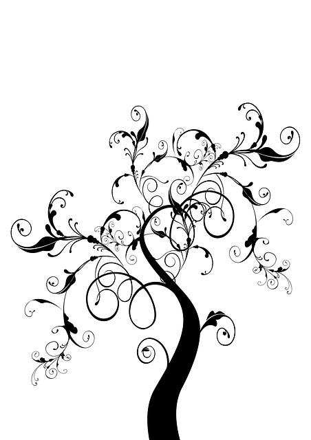 Kostenlose illustration baum b umchen bonsai bl tter - Dessin bonzai ...