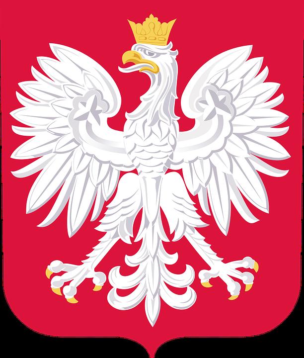 Herb Szlachecki, Godło Państwowe, Polska, Czerwony