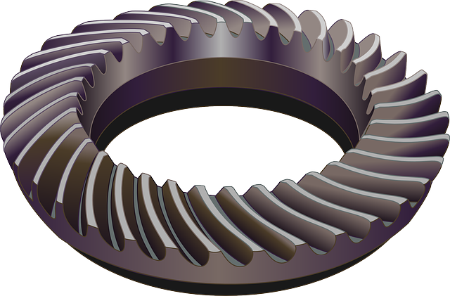 Bevel Gear Animation : Free vector graphic gears spiral bevel
