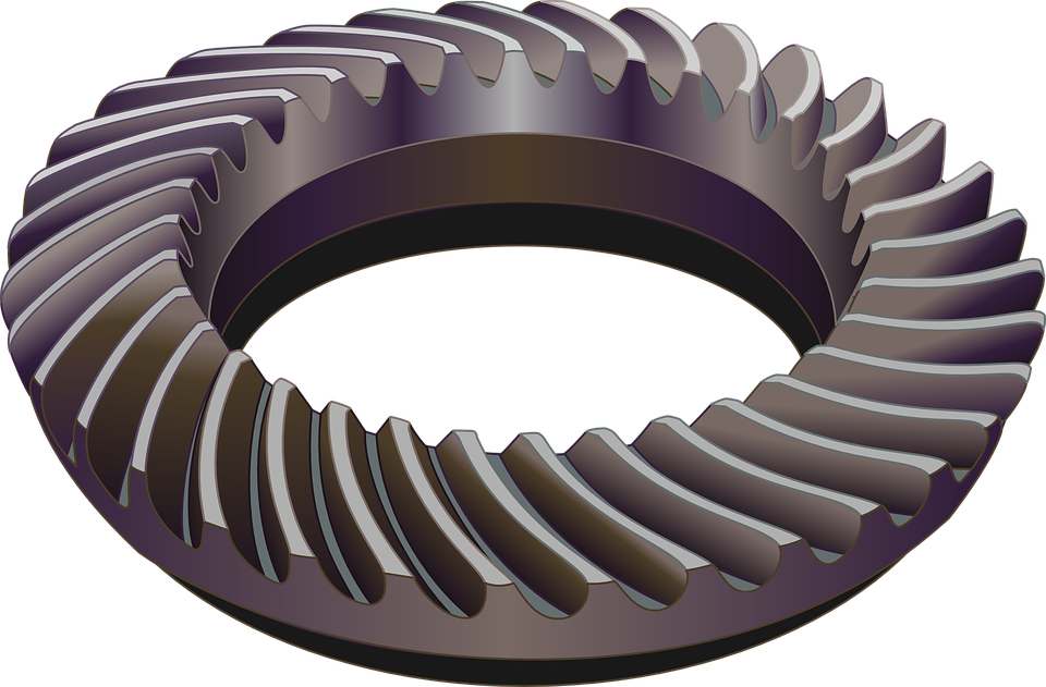 Gears Spiral Bevel - Free vector graphic on Pixabay