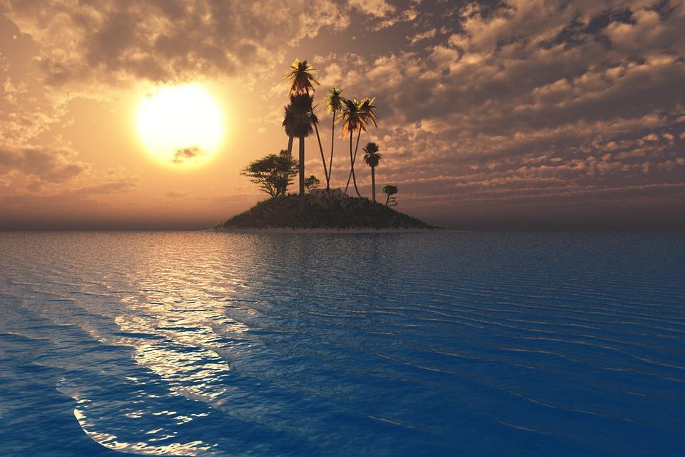 Island Clouds Sea 183 Free Image On Pixabay