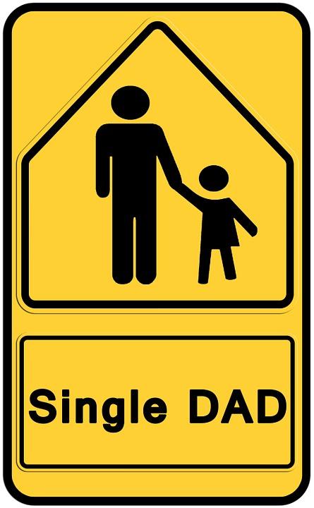 Kostenlose Illustration Verkehrszeichen Vater Kind