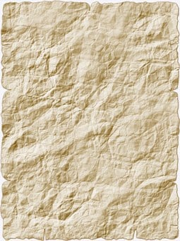 Paper Stationery Parchment Old Kink B