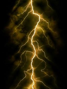 Flash, Nuit, Orage, La Lumière