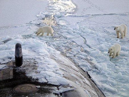 North, Pole, Iceberg, Ice, Cold, Arctic