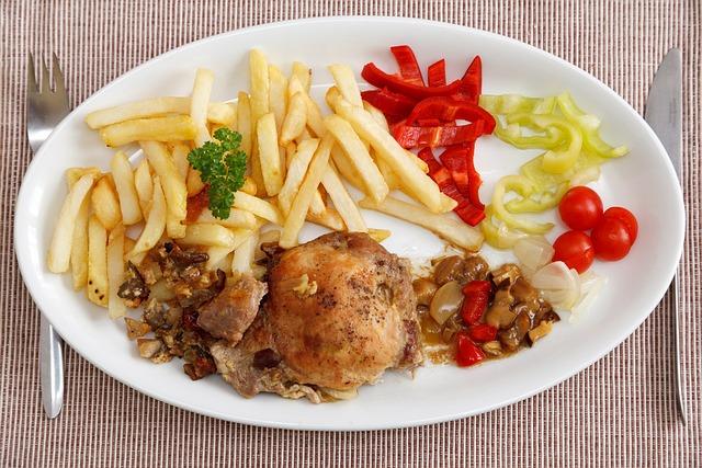 kostenloses foto k che essen fleisch salat kostenloses bild auf pixabay 69410. Black Bedroom Furniture Sets. Home Design Ideas