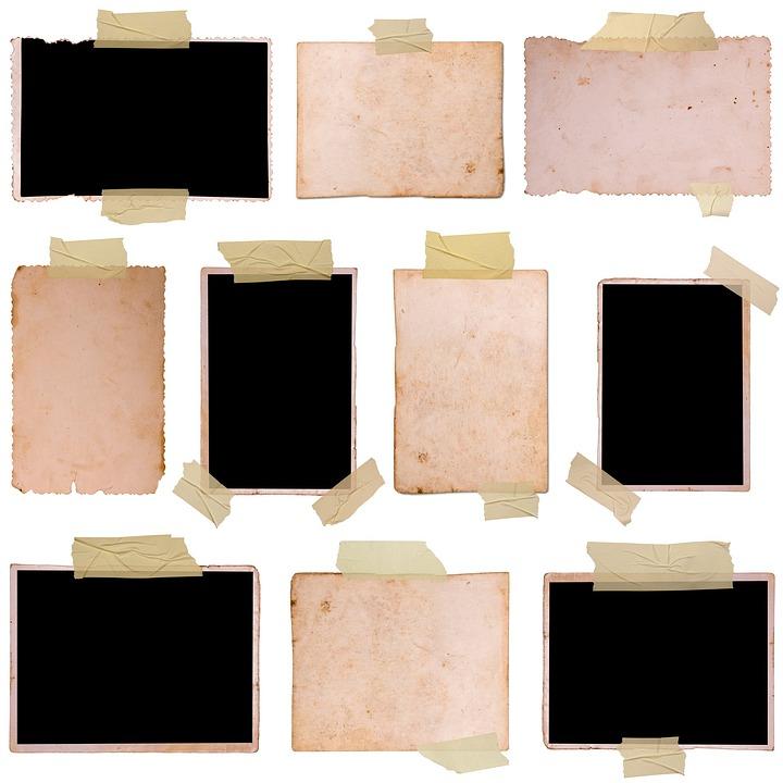 scroll document frames paper tape memo old - Document Frames