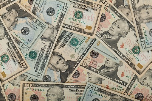 Wealth Us Dollars Usa Business Banknote Cu