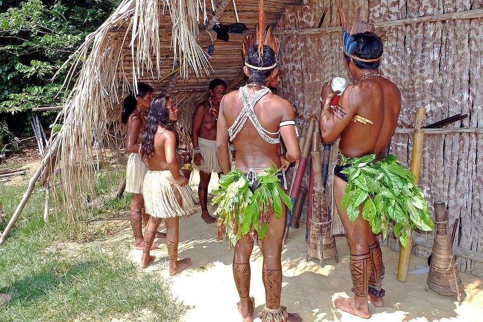 Indiens D'Amazonie, Forêt Tropicale Humide, Brésil