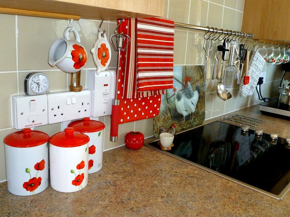 食器, キッチン, 中国, マグカップ, 茶, セラミック, 設定, テーブル, 台所用品, 磁器