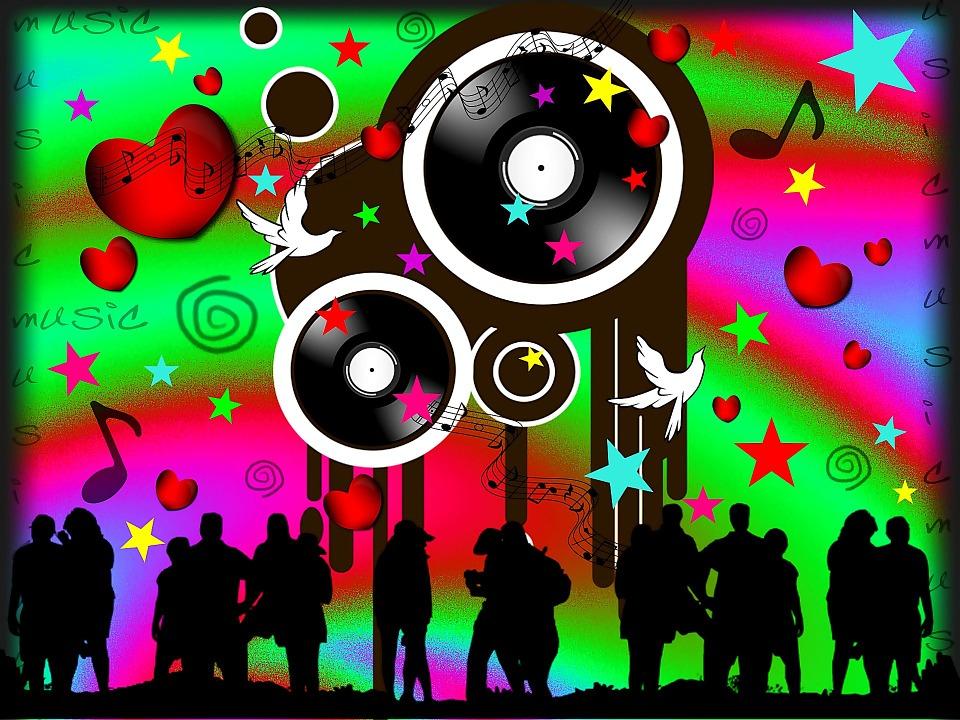 Registro De Disco Bailando · Imagen Gratis En Pixabay