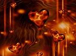 hearts, love, fractal