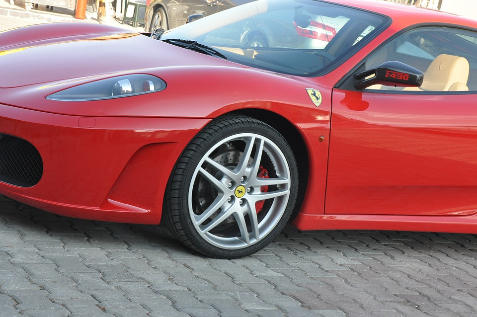 Ferrari F430 The Red Car Modified Car