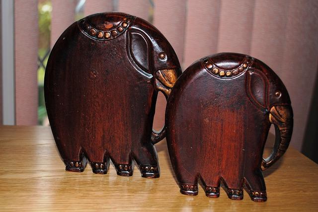 Elefantes Tallado Madera Foto gratis en Pixabay