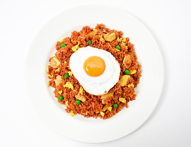 Free photo: Nasi Goreng, Fried Rice, Fried Egg - Free ...